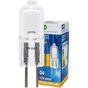 Long Life Lot de 10 ampoules halogènes à culot G4 10 W 12 V ampoules