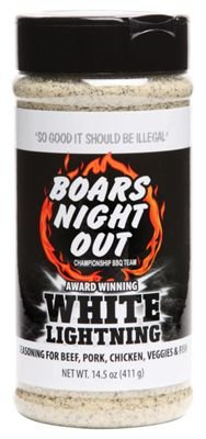 Boars Night Out - 'White Lightning' BBQ Rub - 411g (14.5 oz)