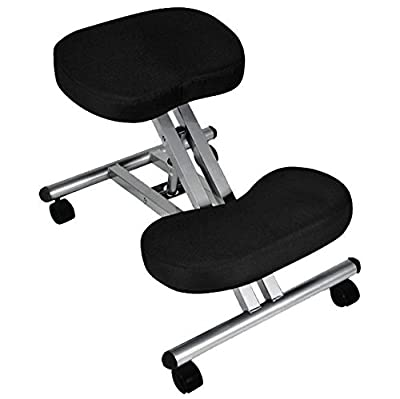Oypla Kneeling Orthopaedic Ergonomic Posture Office Stool Chair Seat produced by Oypla - quick delivery from UK.