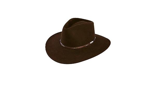Stetson Men s 5X Pawnee Fur Felt Cowboy Hat - Sfpawn-403222 Choc - Brown -  7 1 4  Amazon.co.uk  Clothing edfba8a4fbb6