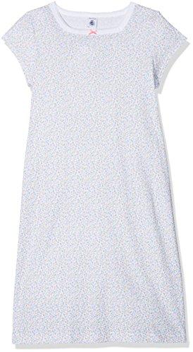 Petit Bateau Mädchen Nachthemd Chemise DE Nuit 28334, Mehrfarbig (Ecume/Multico 37), 140 (Herstellergröße: 10ans/140cm) (Kurzarm Mädchen Nachthemd)