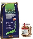 Kronch Henne Pet Food Grain Free 1 x 13,5Kg + MeraDog Pure Sensitive Goody Snack Truthahn und Kartoffel 1 x 600g GETREIDEFREI