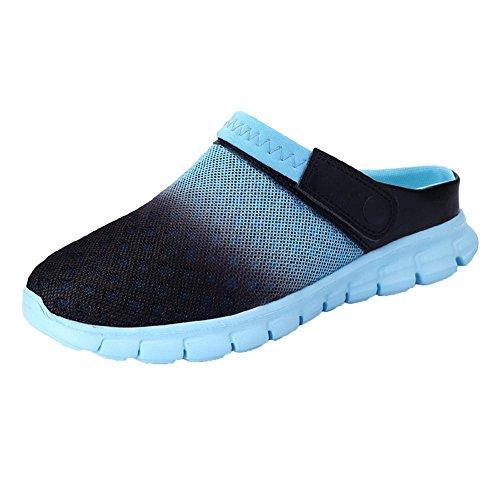 Scarpe Scarpa Sandali Da Adulti Sportive Scarpe Respira Pratica E Pantofole Blu Confortevole Mescolato Super Spiaggia Che Spiaggia Muli wC71gP