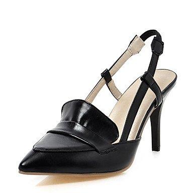 LFNLYX L'été, sandales femmes similicuir Slingback Mariage & soirée robe de boucles et d'autres Beige Rose Noir Beige
