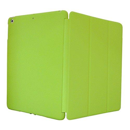 Khomo iPad Air 1 Hülle Case Grün Grünes Gehäuse mit doppelten Schutz ultra dünn und leicht, Smart Cover  - Dual Green (Ipad-gehäuse)