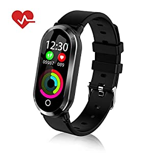 Top-Vigor Fitness Tracker Waterproof Watch for Women Activity Pedometer Tracker with Calorie Step Counter,Sleep Monitor,Heart Rate Monitor,Blood Pressure Monitor,Sedentary Reminder for Android iPhone