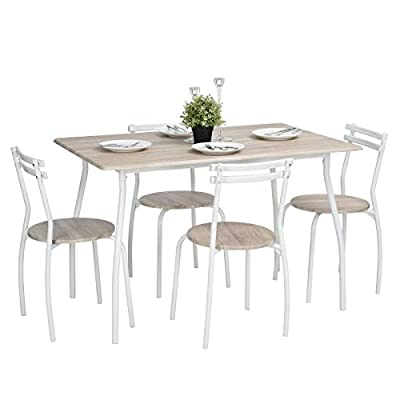 FurnitureR Set of 4 Dining Table & Chair Sets produced by FurnitureR ltd - quick delivery from UK.