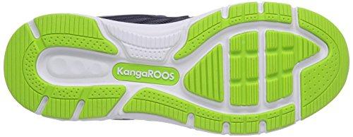 KangaROOS - K-Tech 8007, scarpe da corsa  da unisex adulto Blu (Blau (dk navy/lime 484))
