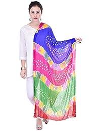 Veera Paridhaan Women's Printed Dupatta (VP00059_Multicolour_Free Size)