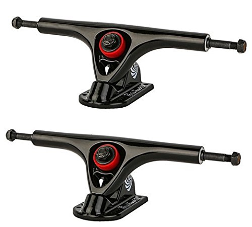 Paris Trucks Paris Longboard Skateboard Achsen V2 Set 150mm/50° Black/Black (2 Achsen) - Paris Trucks Longboard