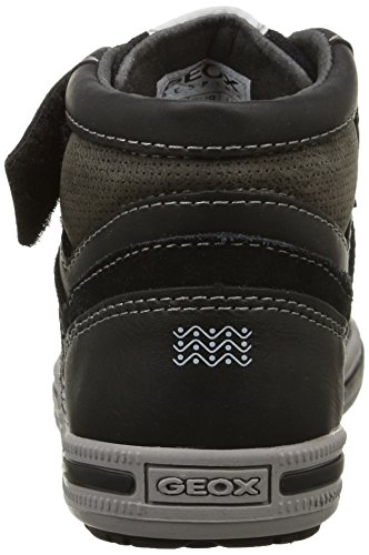 Geox - Jr Elvis D, Sneaker Bambino Dk Grey/Black