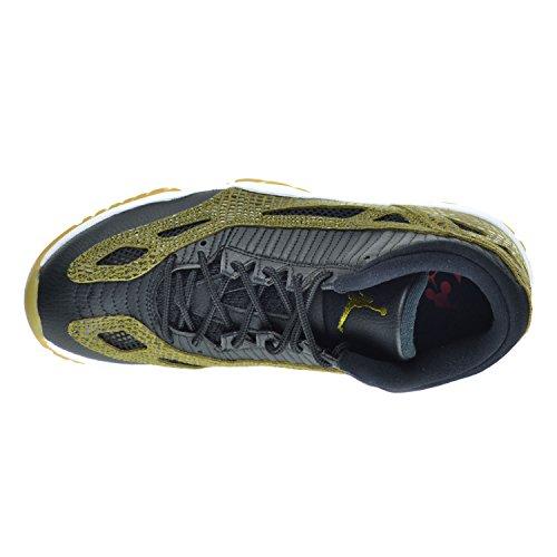 Nike Air Jordan 11 Retro Low, Sandali donna blk/mlt grn-gm yllw-infrrd 23