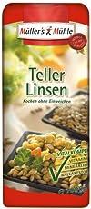 Müller's Mühle Teller-Linsen, 5er Pack (5 x 1000 g Packung)