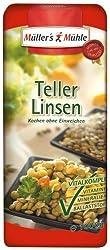 Müller's Mühle Teller-Linsen, 5er Pack