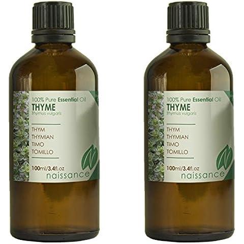 Tomillo - Aceite Esencial 100% Puro - 200ml