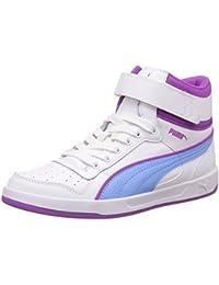 Puma Girl's Puma Liza Mid Jr Leather Sneakers