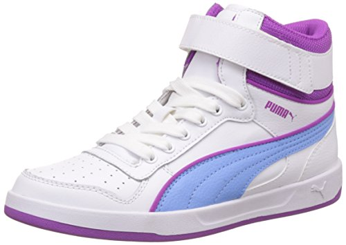Puma Liza Mid Jr, Baskets Hautes Mixte Enfant