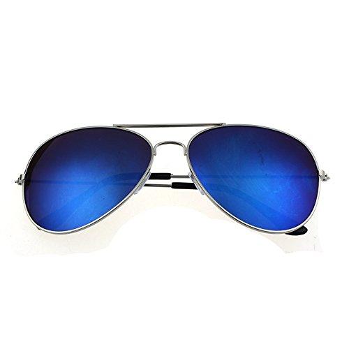 TW-Gläser TWISFER Pilotenbrille Flieger Sonnenbrille Schutz Optimal Entwurf Herren und Frauen Sonnenbrillen(F,One Size)