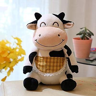 Juguete De Peluche Encantadores Amantes De Los Juguetes Secretario Vaca Mascota Muñeca, Felpa Drama Relleno Niños Juguetes Cumpleaños Almohada de MYETO