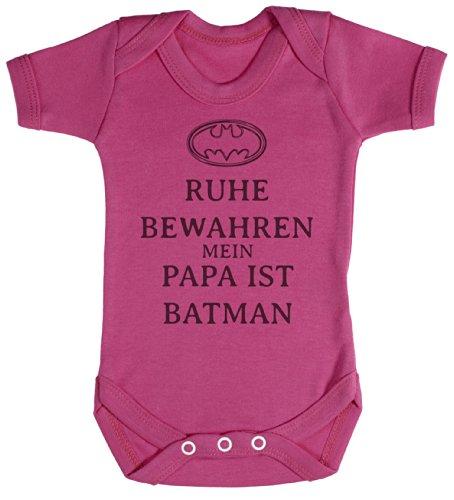 TRS - Ruhe Bewahren Batman Baby Bodys / Strampler 18-24 Monate Rosa