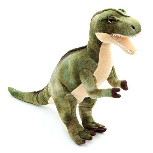 Toy XL Dinosaurier Plüschtier Kuscheltier Dino 38cm groß Tyrannosaurus Rex Stofftier grün
