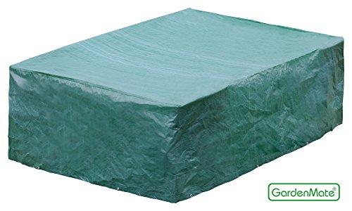 GardenMate ® 250x200x80cm Schutzhülle für Gartenmöbel - Premiumqualität aus 120gsm PE Gewebe