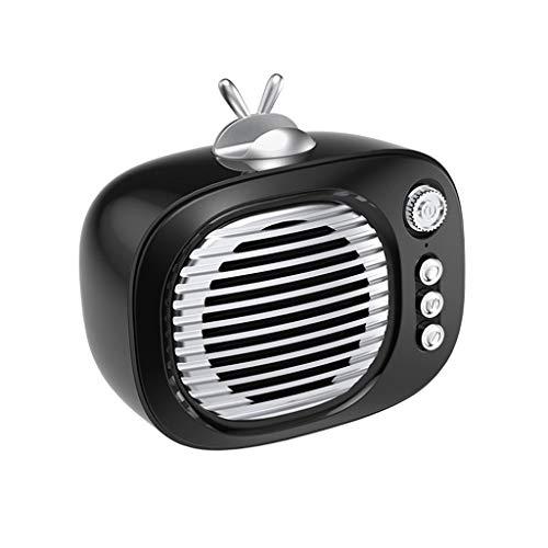 Laile Bluetooth-Lautsprecher nach Hause Wireless Übergewicht Subwoofer Mobile Outdoor Mini Retro Audio Kanone,Tragbare Mini-Wireless-Lautsprecher-Player-Sound-Spalte
