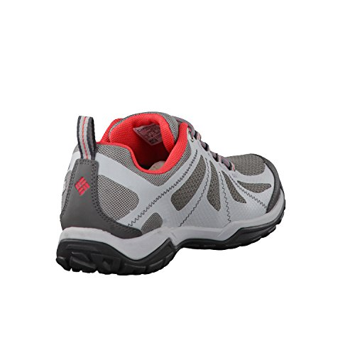 Columbia Peakfreak Xcrsn Ii Xcel Low Outdry, Scarpe Sportive Outdoor Donna Ti Grey Steel, Sunset Red
