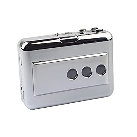 Cassette Audio pour Lecteur Audio MP3 Convertisseur USB Portable Cassette audio à MP3 convertisseur Convertir à USB Flash Drive/ordinateur