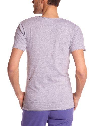 Eleven Paris Herren T-Shirt TUPAC M Grau (M03 Grau meliert)