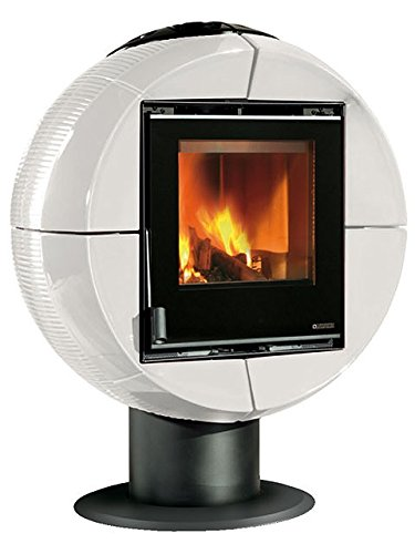Preisvergleich Produktbild La Nordica L7116803 Fireball Kaminofen Weiß