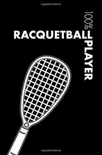 Racquetball Notebook: Blank Lined Racquetball Journal For Player and Coach