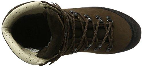 Hanwag Alaska Gtx, Scarpe Alte da Arrampicata Donna Marrone (Erde Brown)