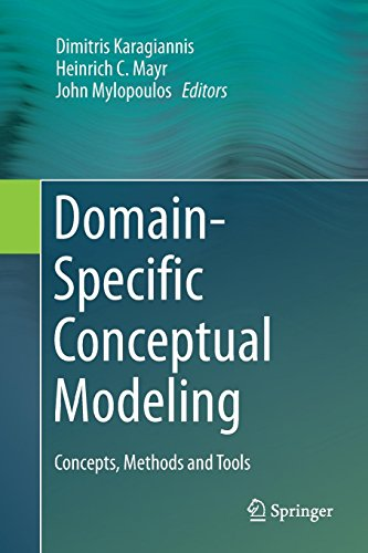 Domain-Specific Conceptual Modeling: Concepts, Methods and Tools (Domain-specific Modeling)