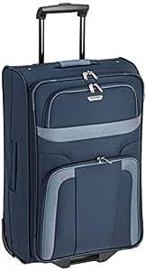 Travelite Koffer Orlando 2-Rad Trolley M, 63 cm, 58 Liters Blau (Marine) 98488-20