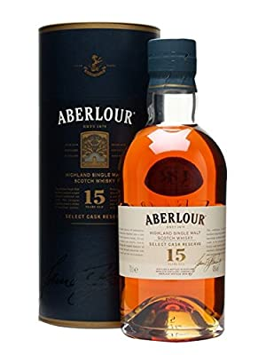 Aberlour 15 Year Old Select Cask Reserve Single Malt Scotch Whisky 70cl Bottle
