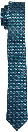 s.Oliver BLACK LABEL Herren Krawatte 12.404.91.4931, Einfarbig, Gr. One size, Grün (ocean 6735)