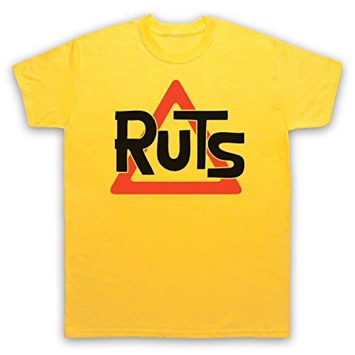 Inspiriert durch Ruts Logo Unofficial Herren T-Shirt Gelb
