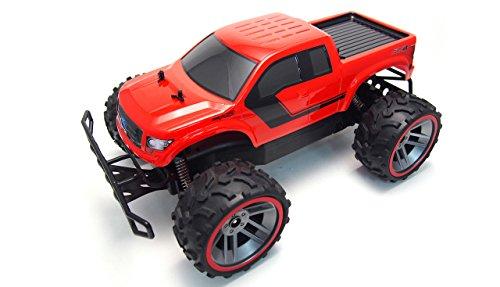 Amewi 22290 Fahrzeug Ford F150 1:16 red:, RTR, Lizenzfahrzeug