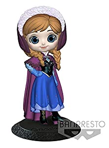 Disney - Figurine Q Posket Anna Manteau Hiver 14cm