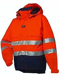 Helly Hansen 71376_169-3XL Ludvika Veste haute visibilité Taille 3XL Rouge/Gris Foncé