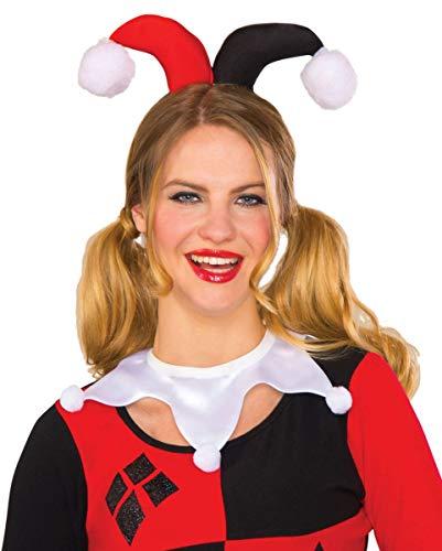 Horror-Shop DC Comics Harley Quinn Kragen für Cosplay & Karneval (Kostüme Shop Comic-con)