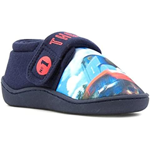 Thomas and Friends Hunter navy Slippers Various Sizes