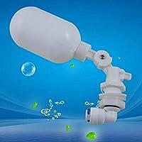 Uniqus Flotador válvula de Bola Cerrada llenado automático alimentación Acuario RO Agua Osmosis Sistema Ajustable Mini
