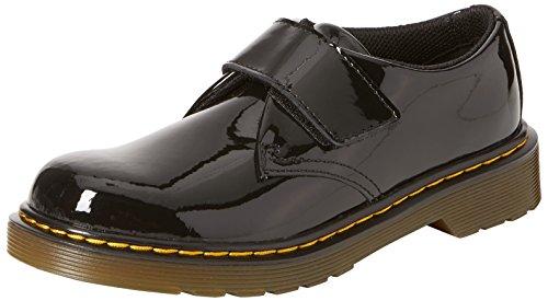 Dr. Martens Mädchen Kamron J Slip On Sneaker, Schwarz (Black 001), 33 EU