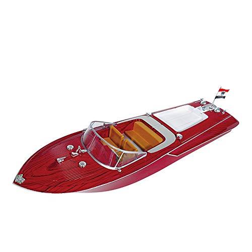 WXIAORONG RC Boot, Fernbedienung für Pools und Seen 2.4GHz Hochgeschwindigkeits-RC-Rennboote große 4-Kanal-Fernbedienung Speedboot-nautisches Modell Spielzeug für Erwachsene & Kinder