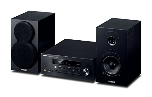 Yamaha MusicCast MCRN470D Network Hi-Fi System with Airplay and Bluetooth - Black