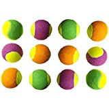 Tima Light Weight Cricket Tennis Ball (Pack Of 12, Color - Double)