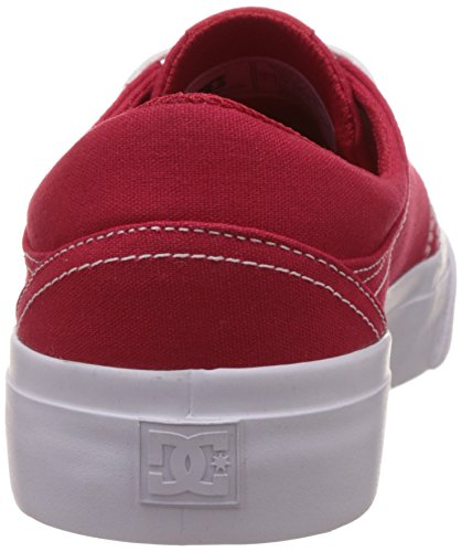 DC Shoes Trase TX M, Sneakers Basses Homme Rot (RDW)