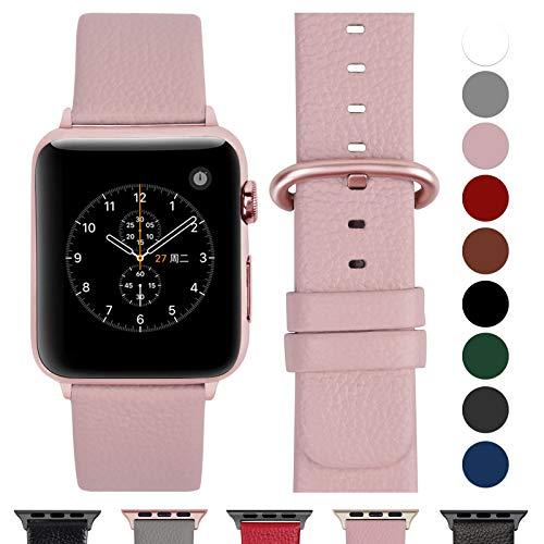 Fullmosa Cinturino per Apple Watch 38 mm/40 mm, Cinturini Pelle Compatibile con Apple Watch Serie 5, Serie 4, Serie 3, Serie 2,...